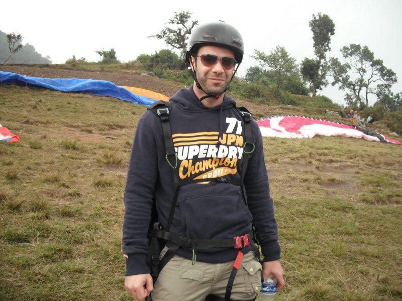 Pokhara-para-gliding