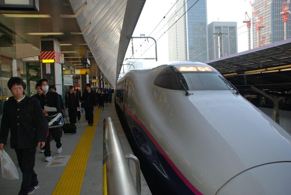 Tokyo 09.11.10 - Tokyo Station - Bullet Train