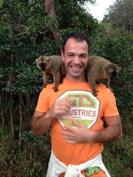 man-lemurs-madagascar