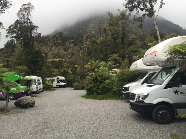Fox_Glacier_Parking