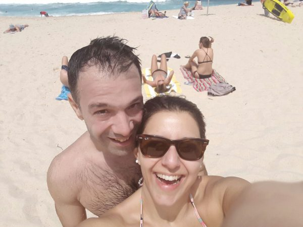 couple-selfie-bondi-beach
