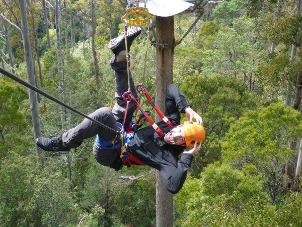 Man-Zipline-Tasmania